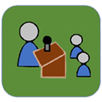 Conference/meeting icon