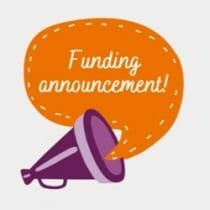 Funding Announcement Graphic